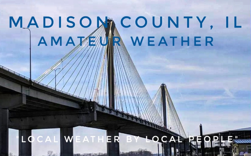Madison County, IL Amateur Weather – @MadisonILWeather